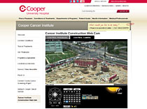 Cooper Cancer Institute  Client Page