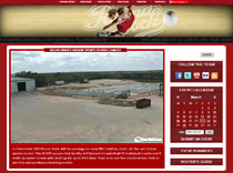 Indoor Sports Center Client Page