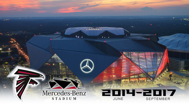 Mercedes-Benz Stadium Time-Lapse