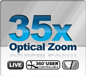 35x Optical Zoom – Live Stream – Robotic PTZ – Wiper System