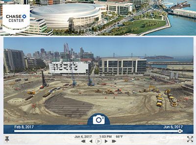 Live Streaming Construction Cameras, Sample Projects - EarthCam.net
