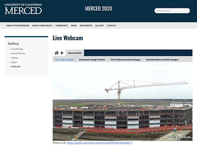 EarthCam | Live Streaming Construction Cameras, Sample Projects