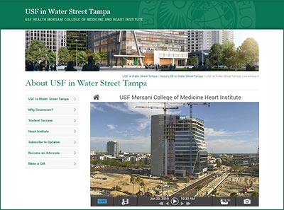 USF in Water Street Tampa