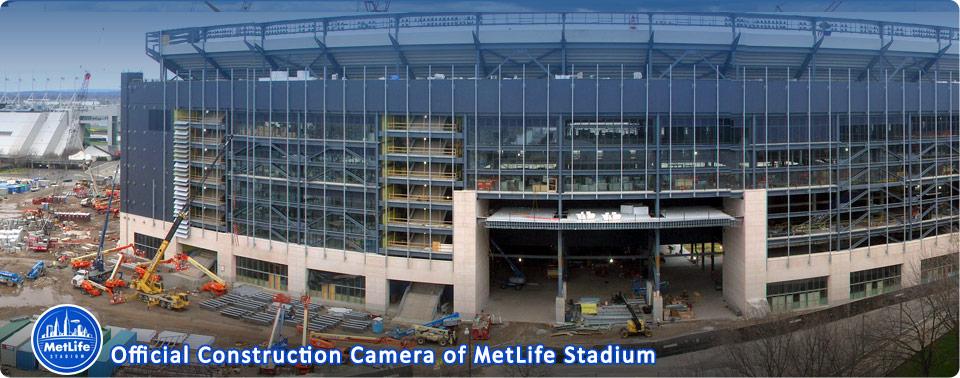 Sport stadium construction live webcam