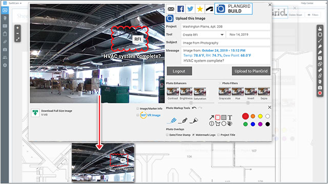 Enhancing Construction Documentation With Visual Information