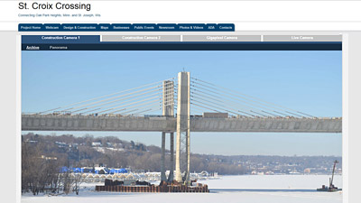 St. Croix Crossing Bridge Client Page