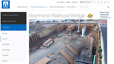 Virginia Street Bridge Client Page