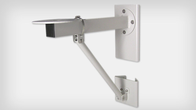 Wall Mount with Pole Adapter and Strut