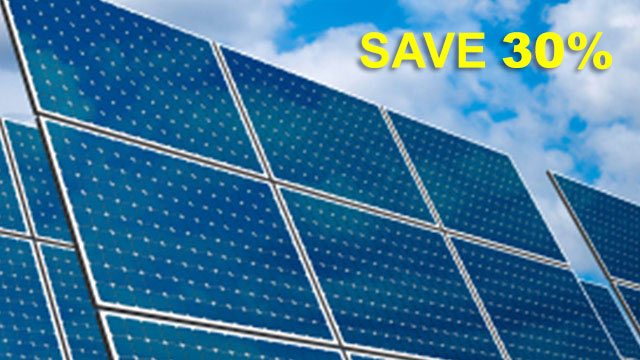 Go Solar & Save with a Tax Credit